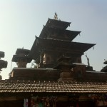 Pagoda in Piata Durbar