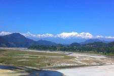 Annapurna dintr-un autobuz