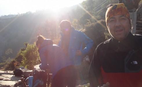 Aventurieri in Nepal