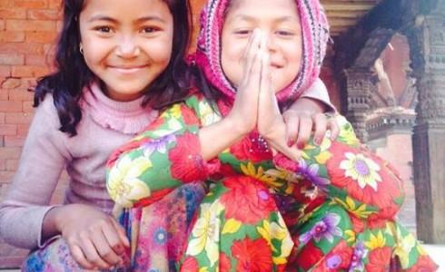 Fetitele din Bhaktapur