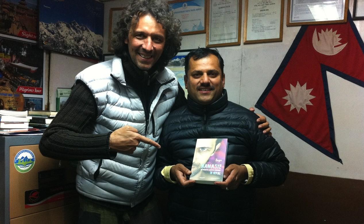 Sega & dl Bishnu Barakoti, dupa 5 ani