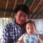 Arjun cu nepotul, Bidhan